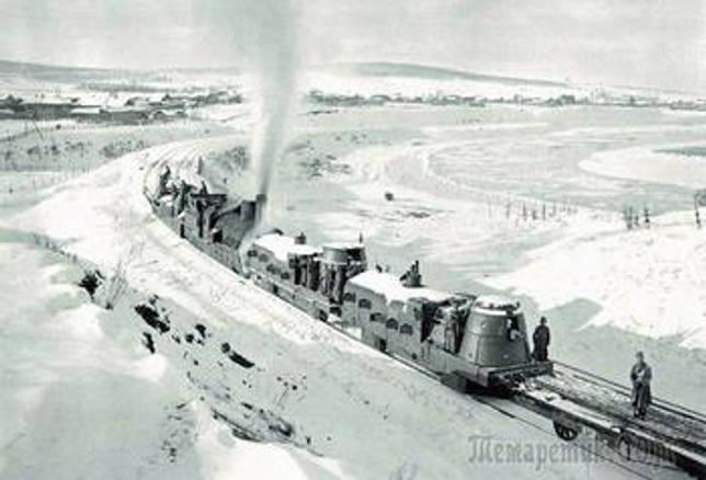 История бронепоездов