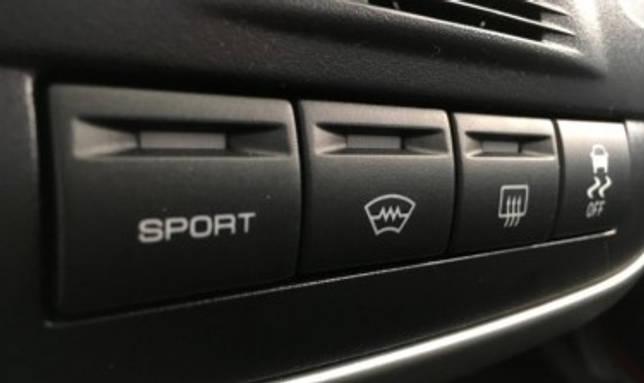 Как работает спортивный режим на обновленной Lada Granta