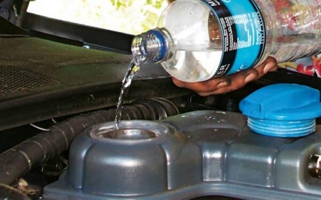 Можно ли смешивать антифриз с водой летом