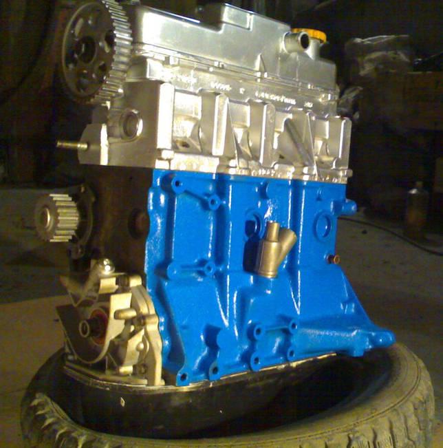 ДВС 21083 с синим блоком